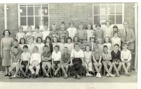 Class photo early 1960s