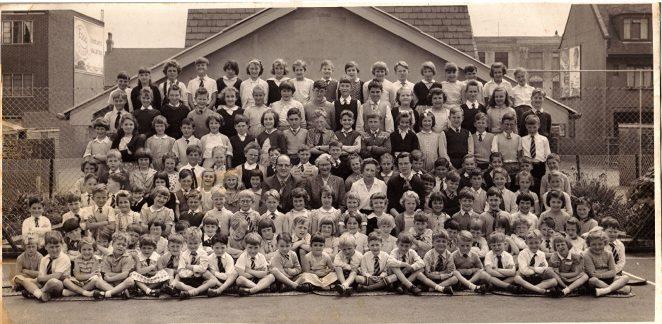 Aldrington C of E school, c1959. | From the private collection of Ken Barrington
