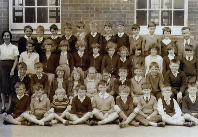 St Marks Junior School, Class 2 1965 | From the private collection of Sally Huxham