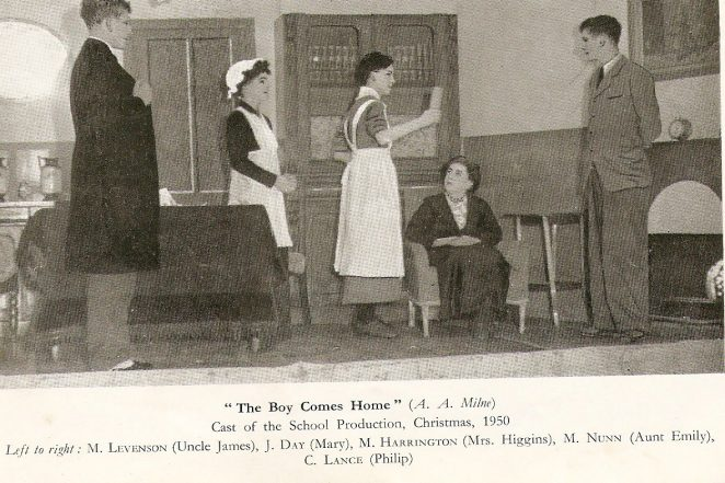 Fawcett School play | From the private collection of Fred Hards