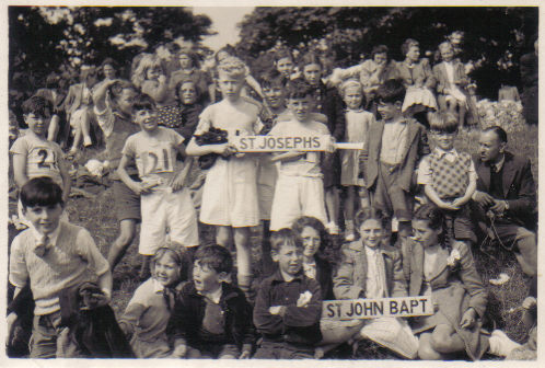 St Joseph's School Sports Day c1951/52 | From the private collection of Kathy Nichols