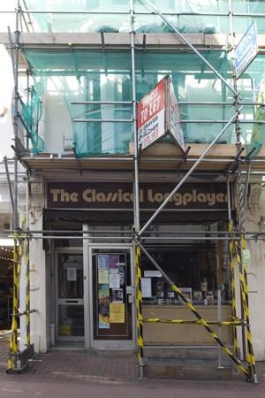 Formerly Select Records, 31 Duke Street, Brighton | Photo by Debbie Lias