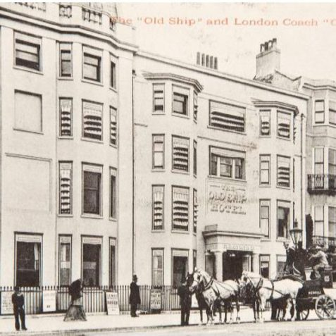 Ship Hotel 1890 | Image reproduced with kind permission of The Regency Society