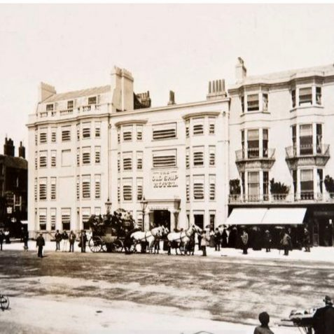 Ship Hotel 1899 | Image reproduced with kind permission of The Regency Society