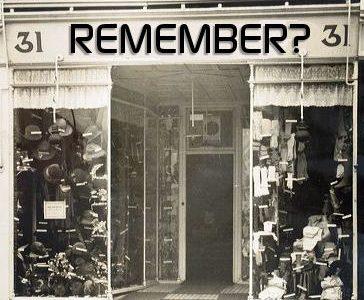Milner Road shops of my childhood