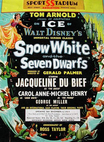 Poster advertising the forthcoming Ice Spectacular