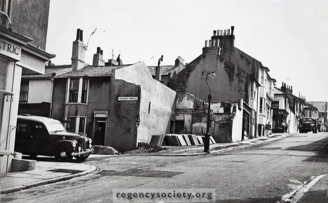 Southover Street: late 1960s | Image reproduced with kind permission of The Regency Society and The James Gray Collection