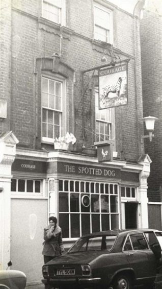 The Spotted Dog | From the private collection of Vernon Page