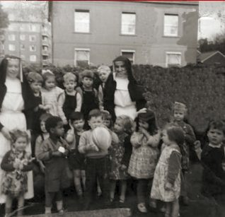 Group at St Anne's c1960s | From the private collection of Noel O'Conner