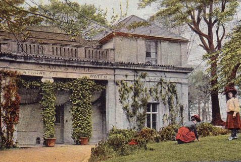 Postcard of St Anne's Well Pump Room, date unknown | Submitted to website by Pat Benham, 6-12-2002