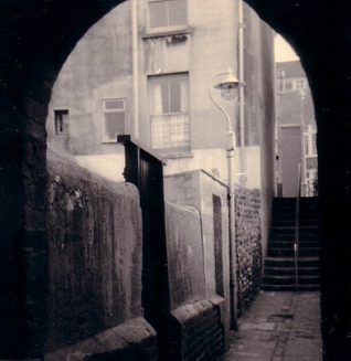 St James Passage in 1976 | Image produced with permission from Brighton History Centre