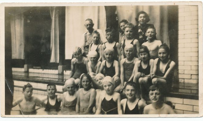 Pupils from St Martin's School | From the personal collection of  Gordon William Wonham