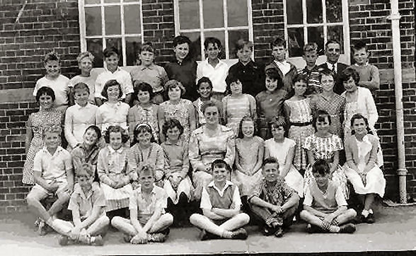 St Mark's School class photograph | From the private collection of David Gillam