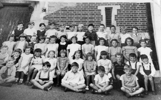 Class photograph c1950s: St Mary Magdalene Upper North Street | From the private collection of Diane Millard