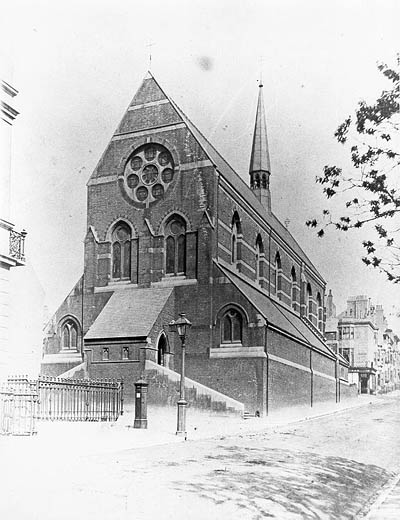 St Michaels and All Angels | Image reproduced with permission from Brighton History Centre