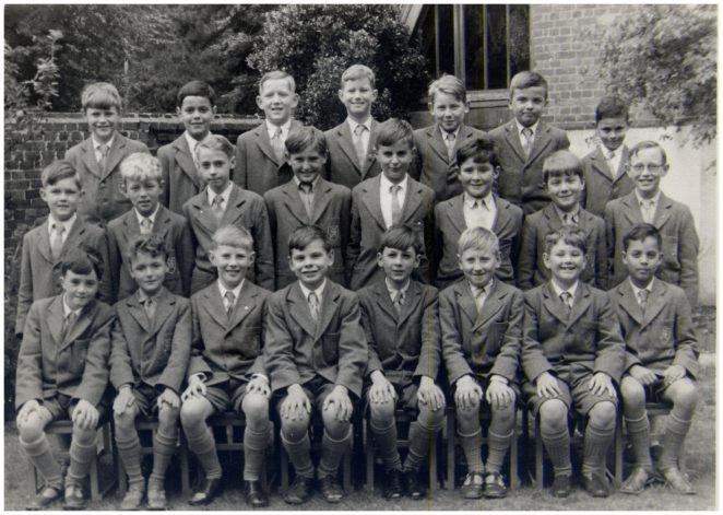 Pupils at St Michael's School c1956 | From the private collection of Dave Griffiths