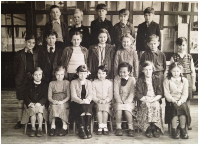 St Paul's School: class photograph c1954 | From the private collection of Pam Nothoff
