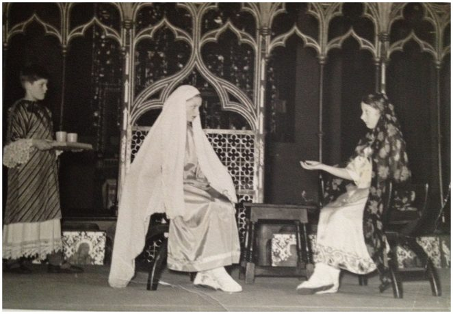 St Paul's nativity play c1954 | From the private collection of Pam Nothoff