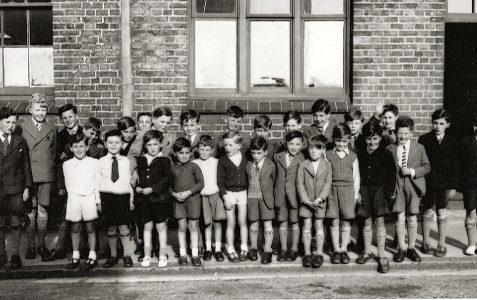 School trip in 1949