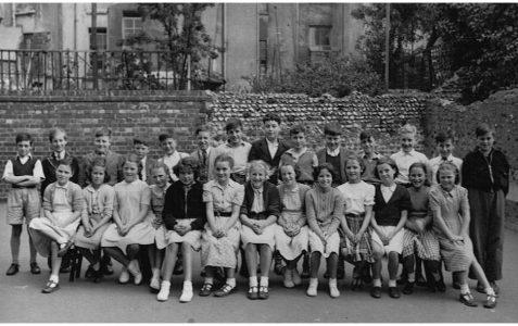 Mr Darby's class 1954