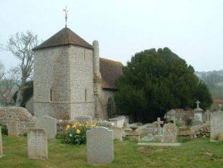 Photograph of St Wulfran's Church, Ovingdean | Photo by Jennifer Drury