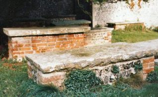 Photograph of the Geere family tombs   Photo by Jennifer Drury
