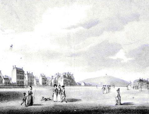 View of the Steine looking north by J. Donowel, 1778
