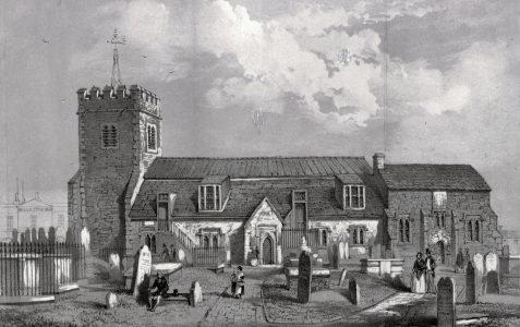 Ancient parish church of Brighthelmstone
