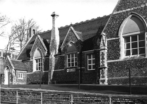 St Nicholas Junior School Portslade | From the private collection of Ray Hamblett