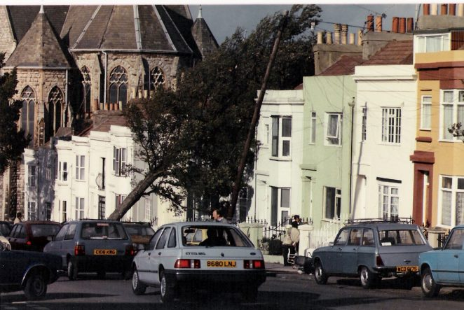 Elm Grove the day after the great storm of October 1987 | Photographed by Stuart Joseph