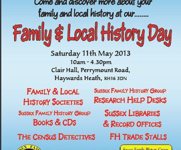 Local and Family History Day
