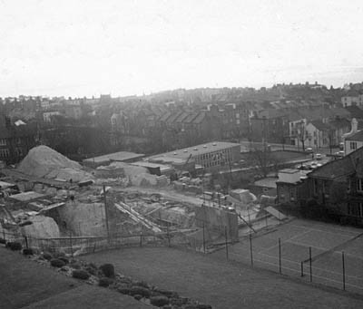 Sussex County Hospital building site 1960s (specific date unknown)   From private collection of Phillipa Shaw.