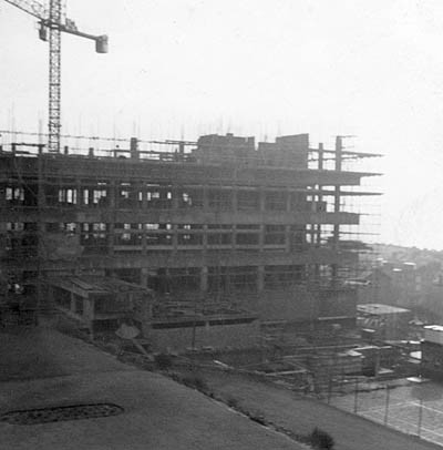 Sussex County Hospital under construction - 1960s (specific date unknown) | From the private collection of Phillipa Shaw.