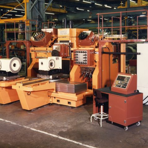 Special Purpose/Machining Centre Hybrid, Head Changer, Mid 1980's | From the private collection of Peter Groves