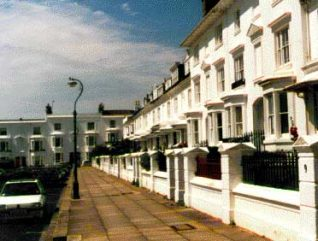 Clifton Terrace looking west