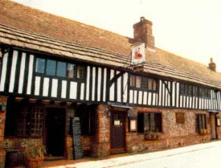 Timber framed building in Alfriston