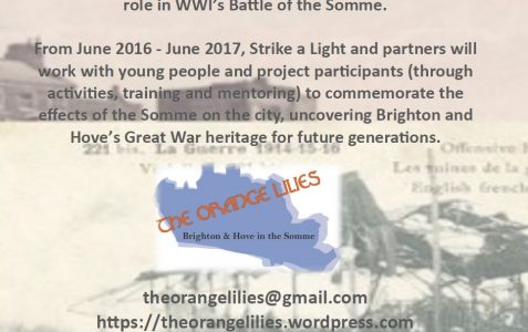 WWI project looking for volunteers