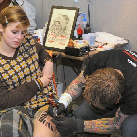 Brighton Tattoo Show | Photo by Tony Mould