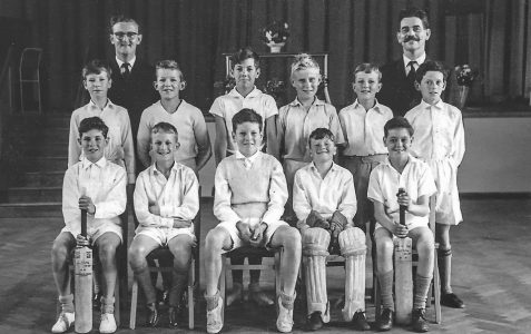 School Cricket Team circa 1961