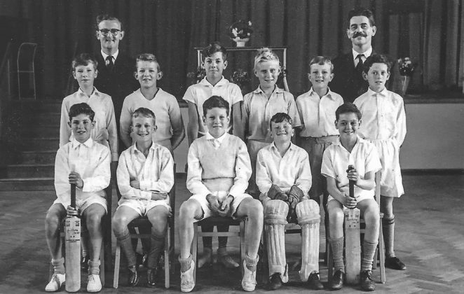 School Cricket Team circa 1961 | From the private collection of Chris Dawson