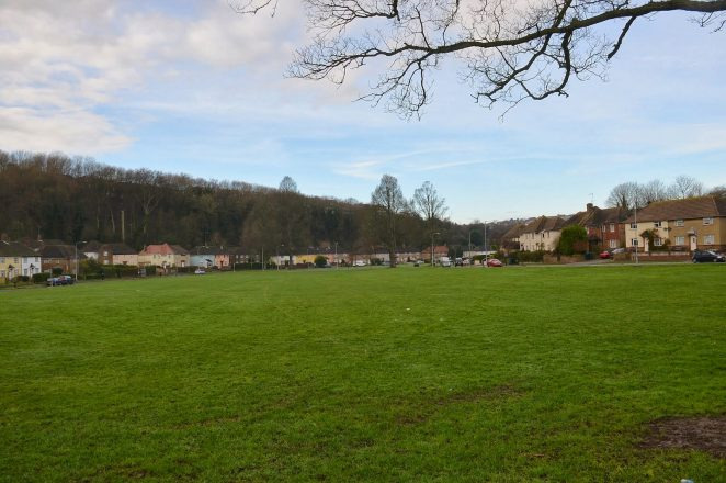 Green space: a great place for football | ©Tony Mould: images copyright protected