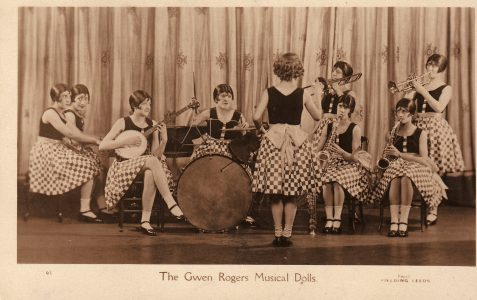 Gwen Rogers' Musical Dolls