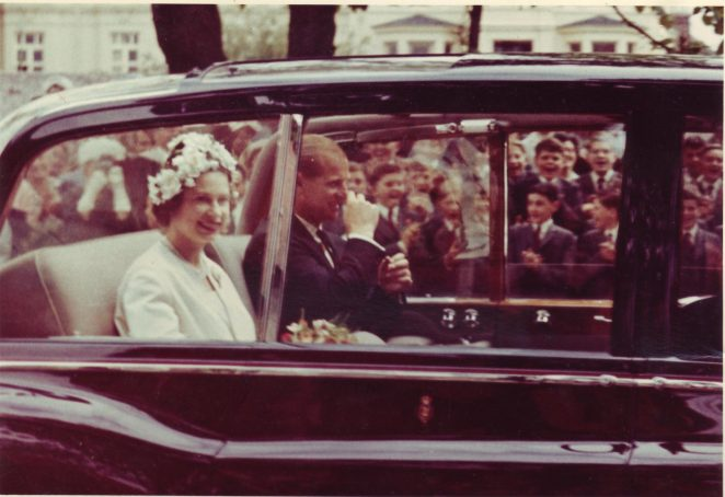 Royal visit to Brighton College | From the private collection of Keith Rossetti