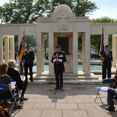 WWI VC plaque ceremony | ©Tony Mould: all images copyright protected