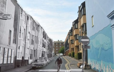 Tichborne Street: old and new