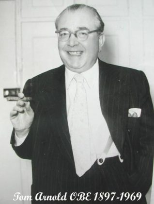 Photo of Tom Arnold OBE 1897-1969 | From the private collection of Trevor Chepstow