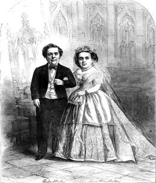 Illustration from the front cover of an 1863 edition of Harper's magazine.