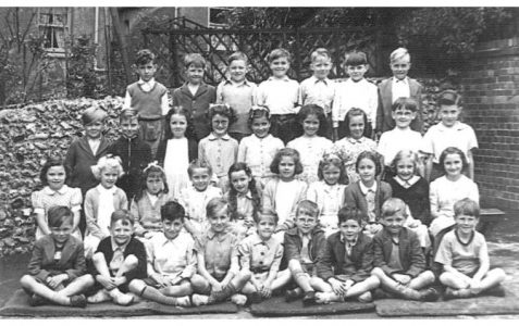 Mr Darby's class photographed in 1954