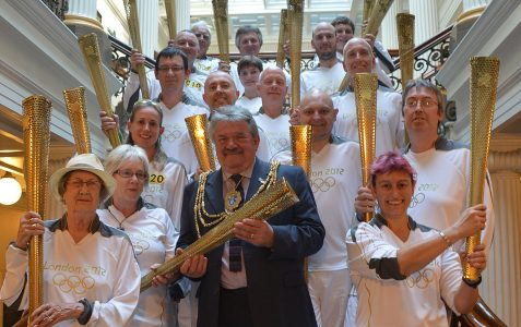 City's Olympic torchbearers