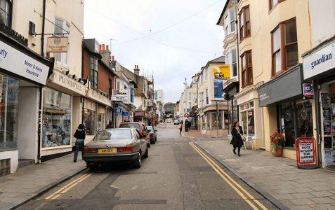 Trafalgar Street to Upper Gardner Street
